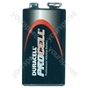 Duracell Procell PP3 Alkaline Battery. Boxed Per 10