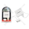 1000mA 'iPhone / iPod' Phone Charger - White