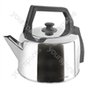 2.0Ltr 2.2Kw Traditional Kettle - Polished Steel
