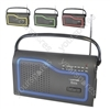 IBIZA' AM/FM Portable Radio - Black