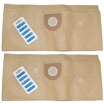 Vax Canister Vacuum Cleaner Paper Dust Bags X 10 + Air Fresheners