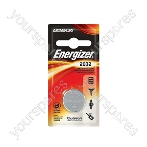 Energizer Cr2032 Pip Pk1 611326 Lithium (small Card)