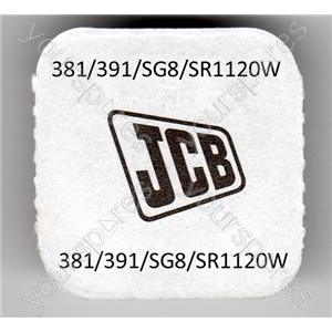 381/391/sg8/sr11202w Jcb Silver Oxide