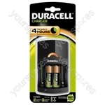 Duracell Cef14 Charger + 4aa 001459