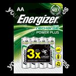 Energizer AA 2000mah 4pk Power Plus