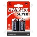 C 2pk Eveready R14 Sup 620466