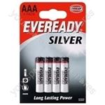 AAA R03 Eveready Silver