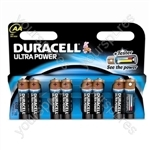 Duracell AA B8 Ultra Power 002548