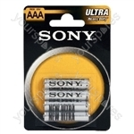 R03 Sony Ultra Zinc