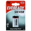 9v Pp3b1 Eveready Silver 621063