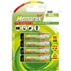 Memorex R03/aaa 900mah Ready 4pk