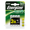 Energizer AAA 850mah B4 Power Plus 635207
