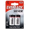 C R14b2 Eveready Silver 621069