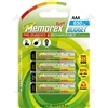 Memorex R03/aaa 650mah Ready 4pk