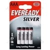 AAA R03 Eveready Silver